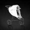 Reflekshette til barnevogn fra Tinkafu